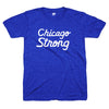 Chicago Strong blue shirt | Bandwagon Champs