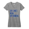 day games mean day drinking chicago tee | Bandwagon Champs