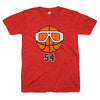Goggles 54 Chicago basketball tee | Bandwagon Champs