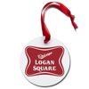 Logan Square Holiday Ornament | Bandwagon Champs