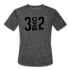 312 Black Moisture Wicking Performance T-Shirt | Bandwagon Champs