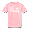 Chicago Strong pink kids youth shirt | Bandwagon Champs