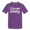 Chicago Strong purple kids youth shirt | Bandwagon Champs