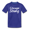 Chicago Strong blue kids youth shirt | Bandwagon Champs