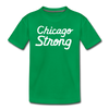 Chicago Strong green kids youth shirt | Bandwagon Champs