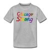 Chicago Strong rainbow kids youth shirt | Bandwagon Champs