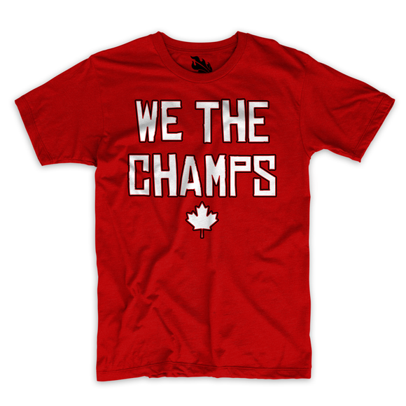 We the Champs Tee