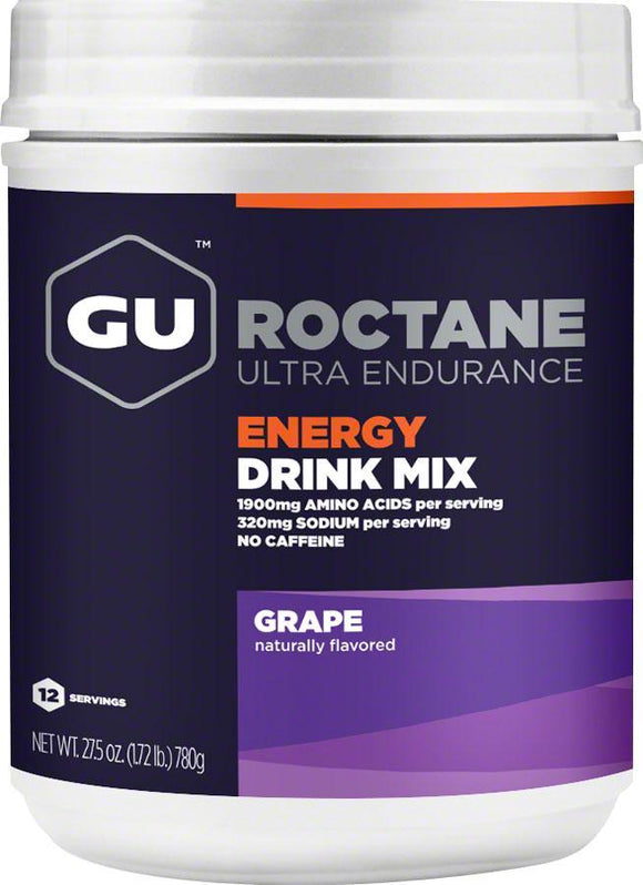 Gu Roctane Energy Drink Mix Bulk Grape
