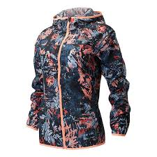 New Balance Printed Accelerate Windcheater Hooded Jacket
