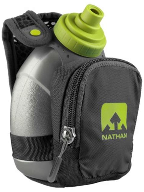 Nathan QuickShot Plus Handheld Water Bottle 10 oz