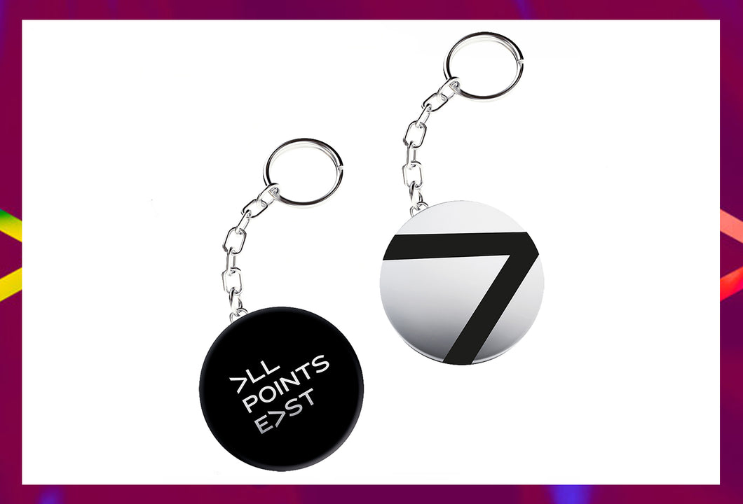 All Points East Keyring