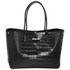 Roseau Croco Shopping Bag - Luxury Avenue Boutique