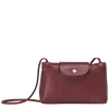 Le Pliage Cuir Bolso Bandolera Granate - Luxury Avenue Boutique