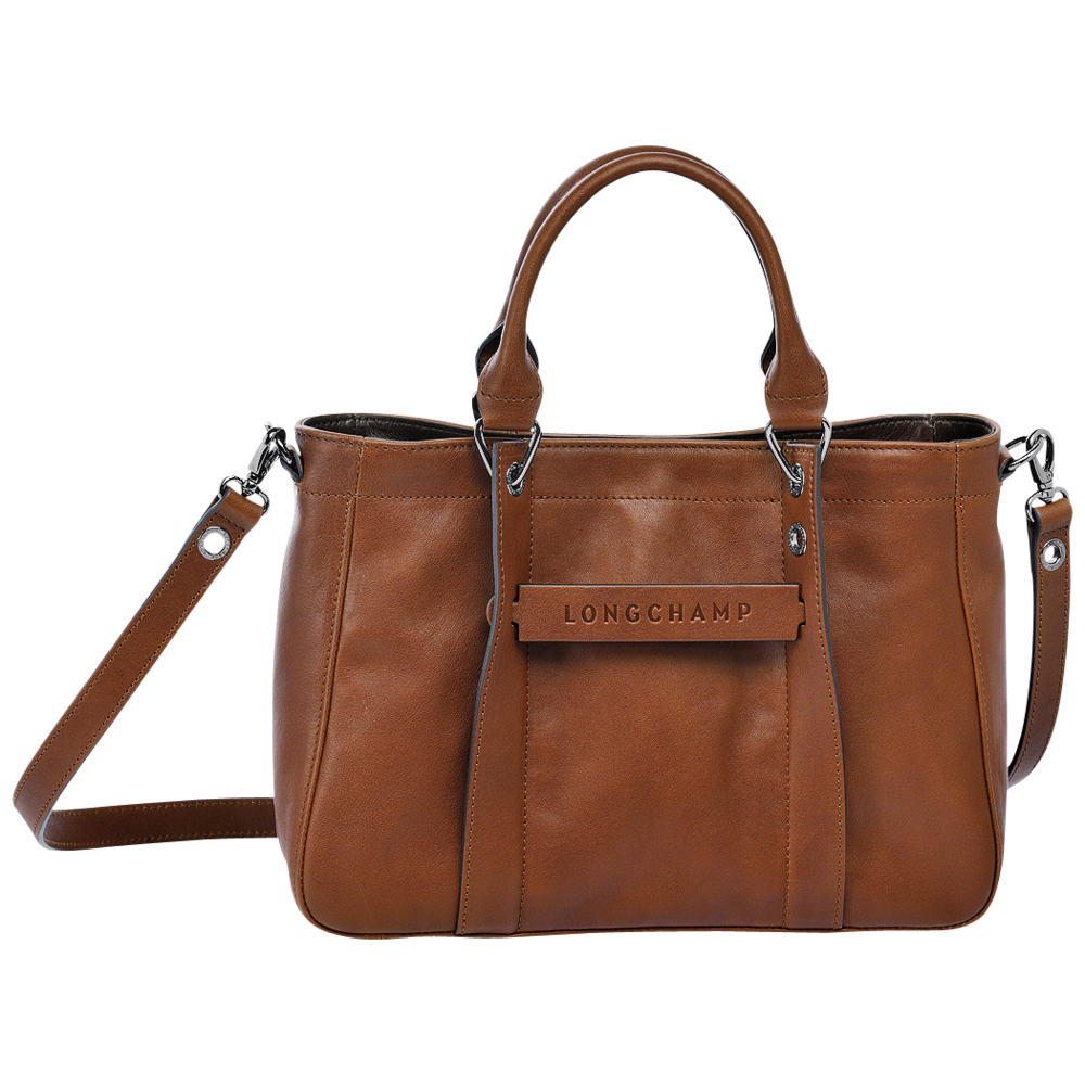 Longchamp 3D Bolso Cábas S Coñac - Luxury Avenue Boutique