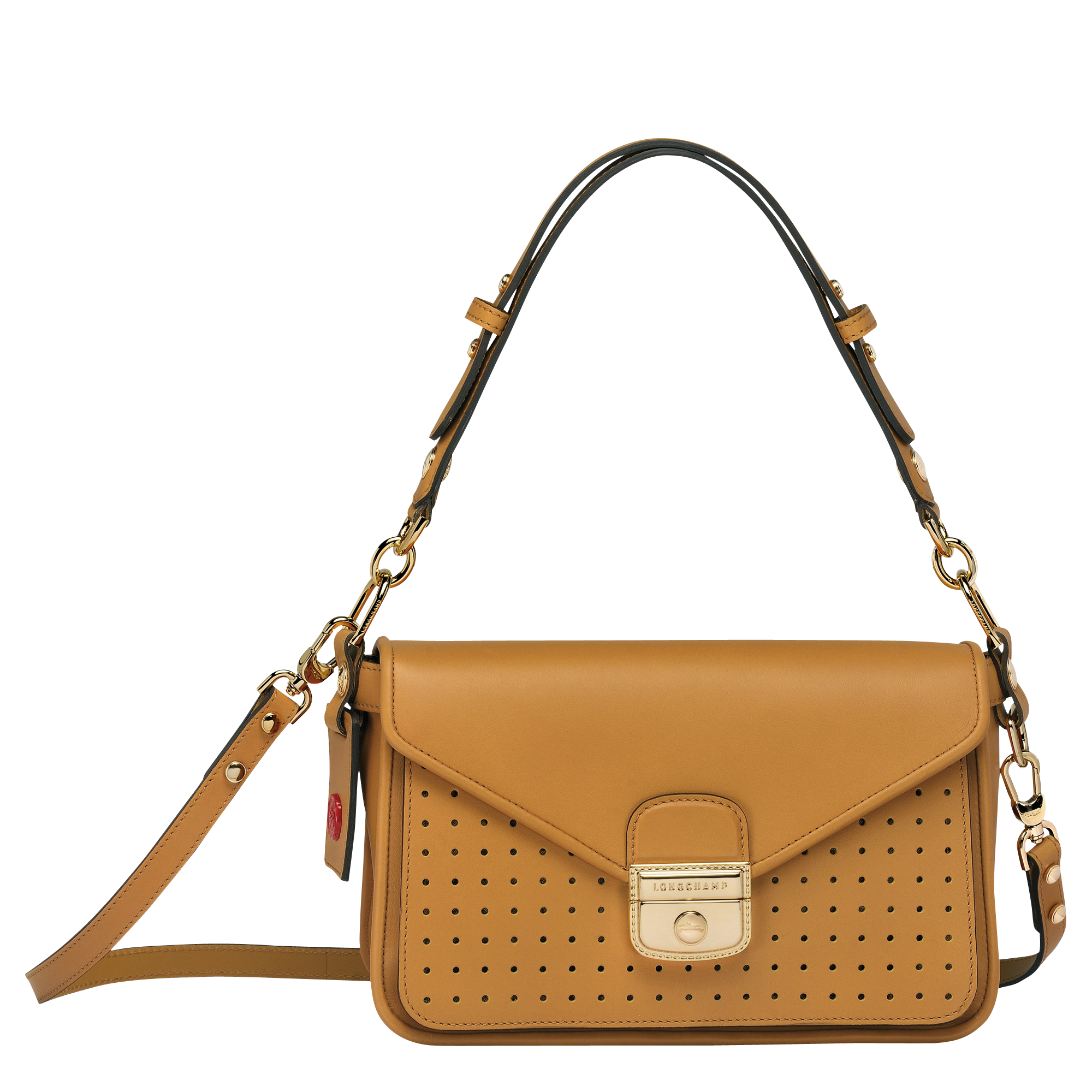Mademoiselle Longchamp Besace S Miel - Luxury Avenue Boutique