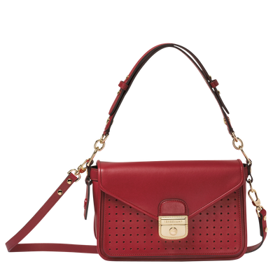 Mademoiselle Longchamp Besace S Granate - Luxury Avenue Boutique