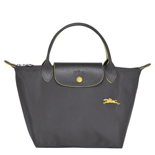 Le Pliage Club Bolso de Mano S Plomo - Luxury Avenue Boutique