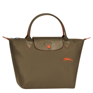 Le Pliage Club Bolso de Mano S Khaki - Luxury Avenue Boutique