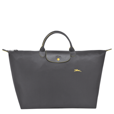 Le Pliage Club Bolso de Viaje L Plomo - Luxury Avenue Boutique
