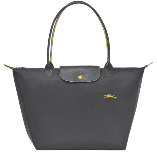 Le pliage Club Bolso Shopper L Plomo - Luxury Avenue Boutique
