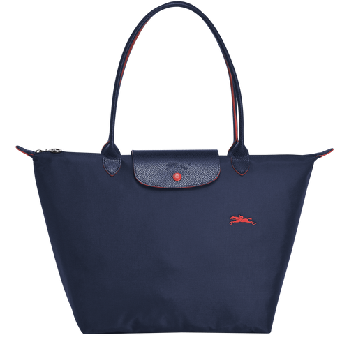Le Pliage Club Bolso Shopper L Azul Marino - Luxury Avenue Boutique