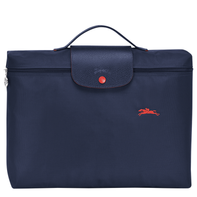 Le Pliage Club Portadocumentos Azul Marino - Luxury Avenue Boutique