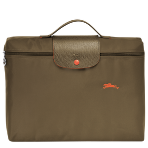 Le Pliage Club Portadocumentos Khaki - Luxury Avenue Boutique