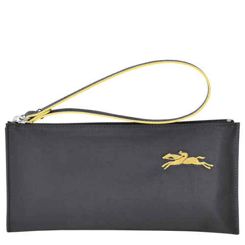 Le Pliage Club Pouch Plomo - Luxury Avenue Boutique