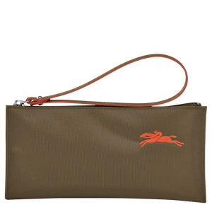 Le Pliage Club Pouch Khaki - Luxury Avenue Boutique