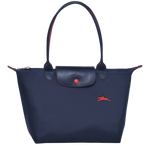 Le Pliage Club Bolso Shopper S Azul Marino - Luxury Avenue Boutique