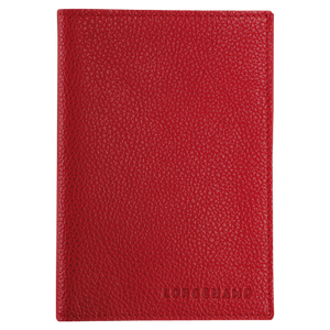 Le Foulonné Funda para Pasaporte Roja - Luxury Avenue Boutique