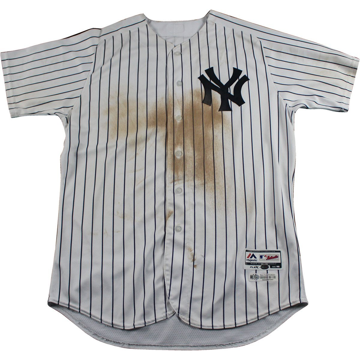 new product 05456 64346 Didi Gregorius Signed New York Yankees Game Used #18 Pinstripe Jersey  (9/2/2017)(HZ934886)