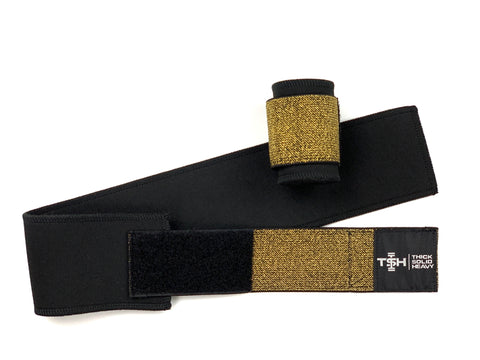 Gold Neoprene Wraps
