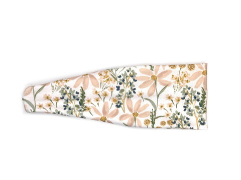 Blush wildflowers headband
