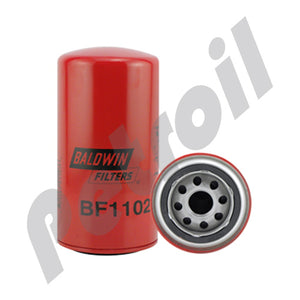 BF1102 Filtro Baldwin Combustible Rosc. Motores Perkins Leyland  Rolls-Royce OD19596 P550365 FF4036