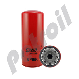BF596 Filtro Baldwin Combustible Roscado Camiones International Cummins 3313306 33116 FF202 LFF202 S3207 P550202
