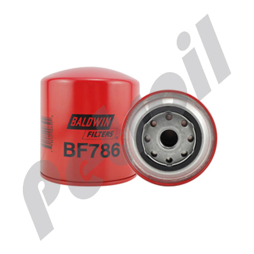 BF786 Filtro Combustible Baldwin Roscado Motores International 1804459C1 P550811 33811 FF5035
