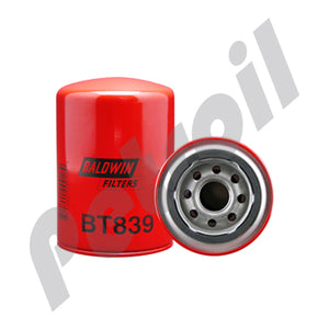BT839 Filtro Baldwin Hidraulico Cross 1A9023 Gresen 8057000 Michigan Fluid Power 201026 P551553 HF6057 51196 51551 51553