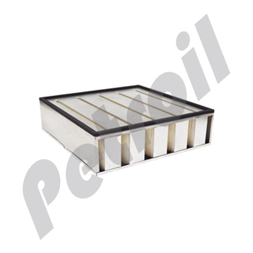 PA2375 Filtro Aire Baldwin Tipo Panel DynaCell Ingersoll-Rand 35258177 42783 AF850