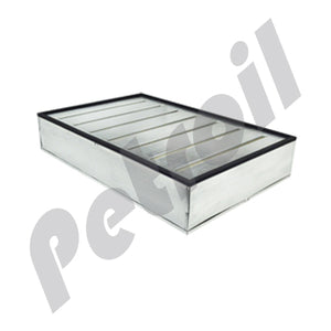 PA2444 Filtro Aire Baldwin Tipo Panel DynaCell I Farr C51800 T528 P142812 AF973 42599