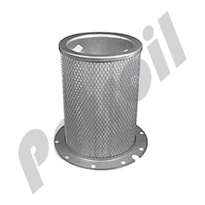 PA2647 Filtro Baldwin Aire Interno Flange 10 Huecos Caterpillar 1W8161 6N6444 8N8934 AF1833 46424 P158677