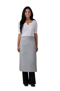 Premium Full Bistro Apron with One Pocket w/Pencil Divide