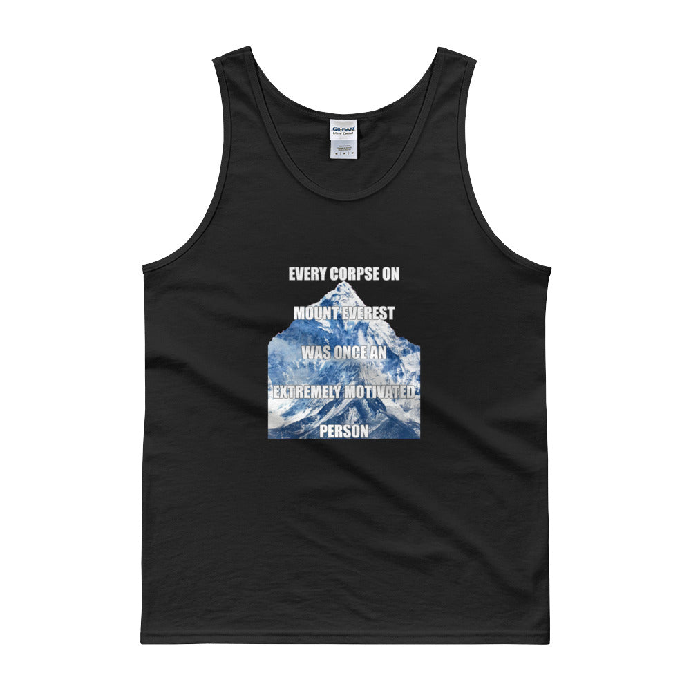 EVERY CORPSE ON MOUNT EVEREST Men's Tank top