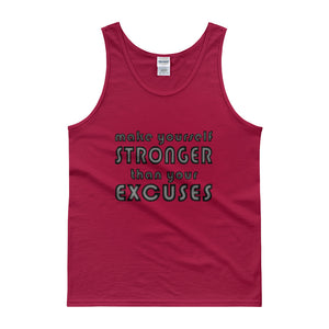 MAKE YOURSELF STRONGER Men's Tank Top