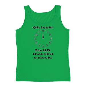 OH LOOK ITS LIFT O'CLOCK Women's Tank Top