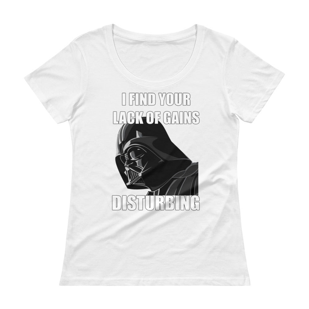 YOUR LACK OF GAINS Women's T-Shirt
