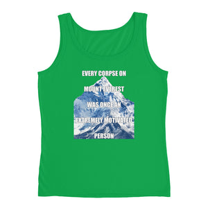 EVERY CORPSE ON MOUNT EVEREST Women's Tank