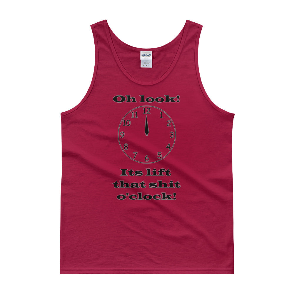 OH LOOK ITS LIFT O'CLOCK Men's Tank Top
