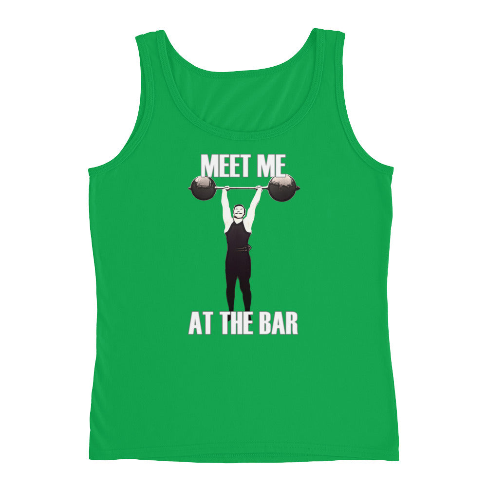 MEET ME AT THE BAR Women's Tank Top