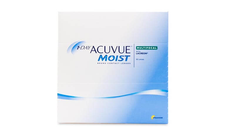1 Day Acuvue Moist Multifocal 90 Pack (For Presbyopia)